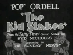 The Kid Stakes movie poster.